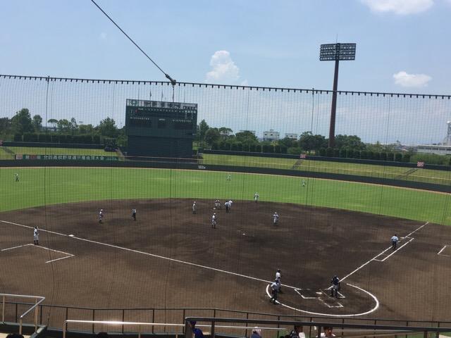 短信>高校野球選手権佐賀大会(2018)、初戦突破の鳥栖高校