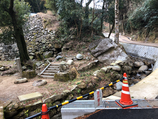 九州北部豪雨で被災した基肄城・水門跡の今(2020-02)